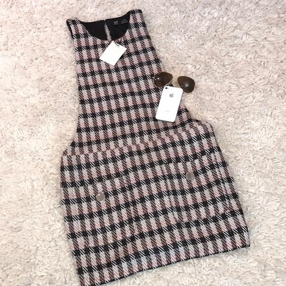 Zara Dresses & Skirts - Zara Plaid Baby Doll Dress